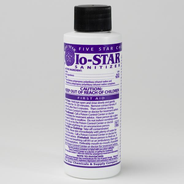 btf iodophor sanitizer instructions