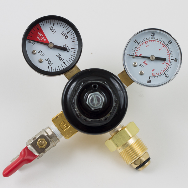 Nitrogen Regulator Dual Gauge Economy With 5 16 Quot Outlet