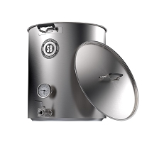 Spike Brewing v4 10 Gallon Kettle - 2 Vertical Welded Couplers