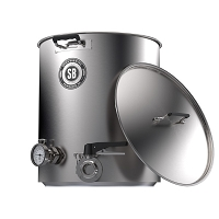 Spike Brewing 20 Gallon Plus Kettle - 2 Tri-Clamp Fitting
