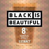 Black is Beautiful: Imperial Oatmeal Stout (Extract Kit)