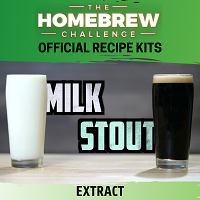 Homebrew Challenge Milk Stout (Milk Stout Extract Kit)