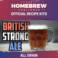 Homebrew Challenge British Strong Ale (All Grain Kit)