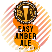 AHA Basic Amber Ale (American Amber Extract Kit)