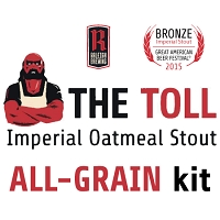 Raleigh Brewing Company: The Toll Clone (Imperial Oatmeal Stout All Grain Kit)