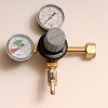 CO2 Regulator, Deluxe Dual Gauge 5/16