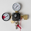 CO2 Regulator, Economy Dual Gauge 5/16