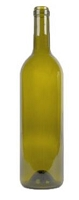750ml Bordeaux Antique Green Wine Bottle (Case)
