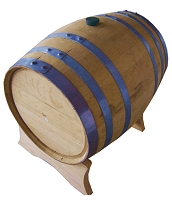 5 Gallon Whiskey Barrel