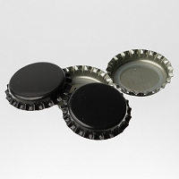 Bottle Caps - Black (Per Oz)