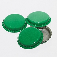Bottle Caps - Green (Per Oz)