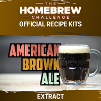 Homebrew Challenge American Brown Ale (Extract)