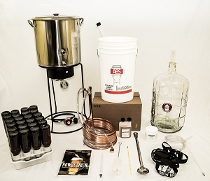 Beginning Brewer Homebrew Equipment Kit, 5 Gallon Ultimate (Glass Carboy)
