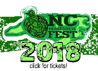 Ticket for NC Homebrew Fest 2018 (aka Southeastern Homebrew MiniCon)