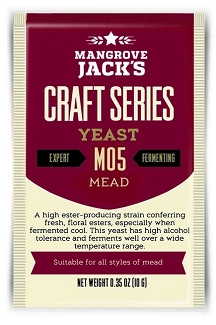 Dry Yeast, Mangrove Jack's M42 New World Strong Ale