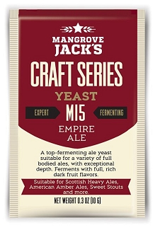 Dry Yeast, Mangrove Jack's M15 Empire Ale