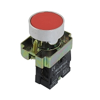 Push Button Switch 22mm 1NC momentary Red