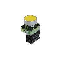 Push Button Switch 22mm 1NO momentary Yellow