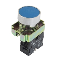 Push Button Switch 22mm 1N) momentary Blue