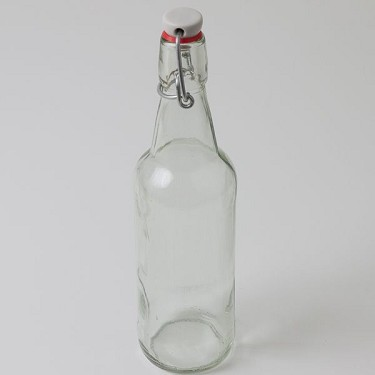 Bottle, 16oz Flip Top Clear (Case of 12)