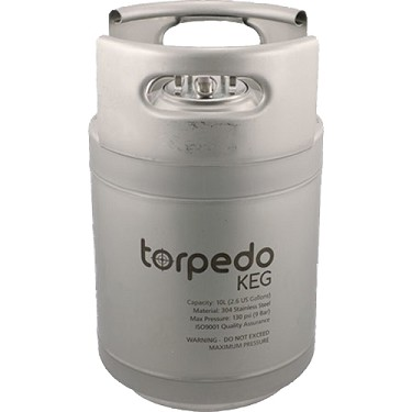 Torpedo Keg, 2.5 Gallon (Wide)