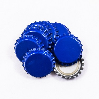 Bottle Caps - Blue (Per Oz)