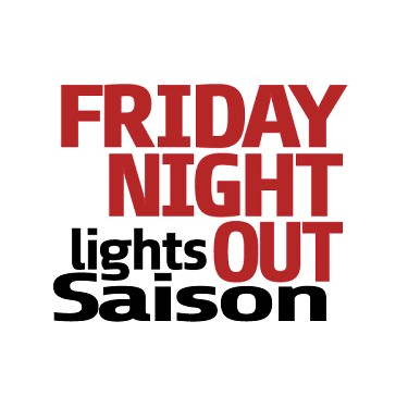 Friday Night Lights Out (Black Saison Extract Kit)