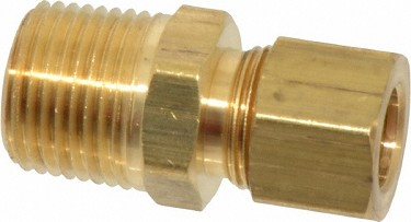 "Compression, 3/8"" MPT to 3/8"" (Brass)"