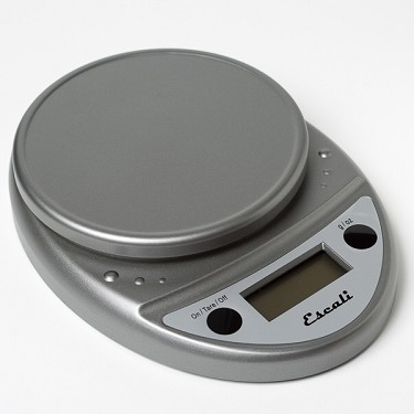 Escali Digital Scale, Chrome