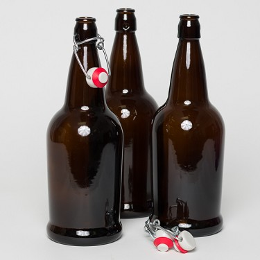 Bottle, 32oz EZ-Cap Brown (Case)