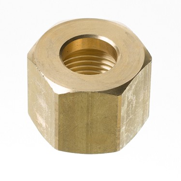 CO2 Connection Nut (fits stem)