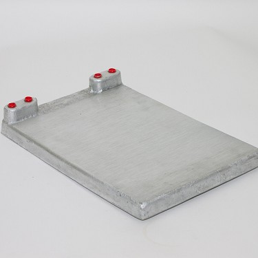 Cold Plate, 2 Circuit 10 x 15""