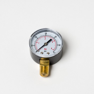 Regulator Gauge, High Pressure with Right Hand Thread (0-3000 PSI)