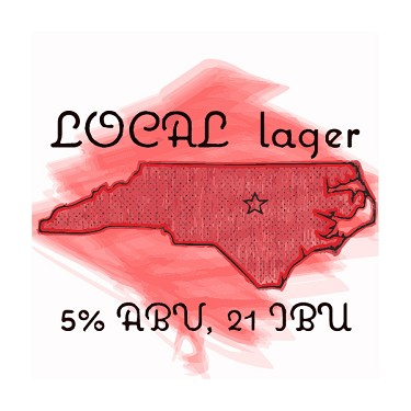 Local Lager, an ABS/Epiphany Malt/Raleigh Brewing Collaboration (Vienna Lager Extract Kit)