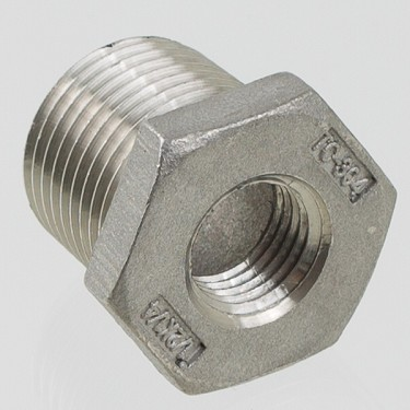 "Pipe Bushing, 3/8"" MPT to 1/4"" FPT"