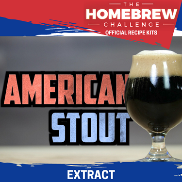 Homebrew Challenge American Stout (Extract Kit)