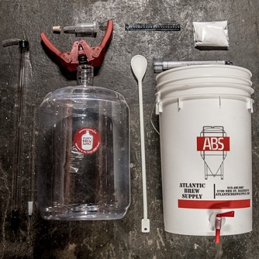 Basic Homebrew Equipment Kit for 5 Gallons of Beer (FerMONSTER)