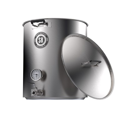 Spike Brewing v4 15 Gallon Kettle - 2 Vertical Welded Couplers