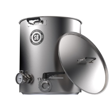 Spike Brewing 15 Gallon Plus Kettle - 2 Tri-Clamp Fitting