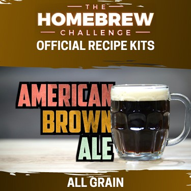 Homebrew Challenge American Brown Ale (All Grain Kit)