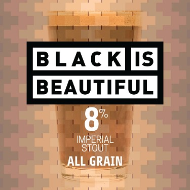 Black is Beautiful: Imperial Oatmeal Stout (All Grain Kit)