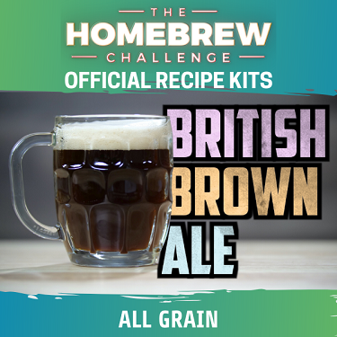Homebrew Challenge British Brown Ale (All Grain Kit)