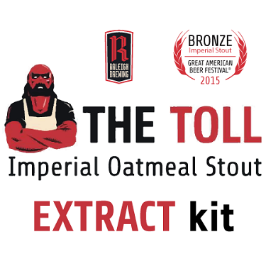 Raleigh Brewing Company: The Toll Clone (Imperial Oatmeal Stout Extract Kit)
